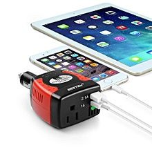 DC 12V To AC 220V 150W Car Power Inverter Converter Charger For Mobile Laptop