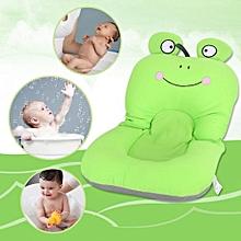 Foldable Non Slip Cute Frog Baby Bath Mat Soft Bathing Cushion Toddler Bathtub Safety Pad #2