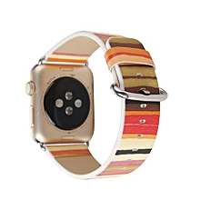 Leather Wristband Watch Band Wrist Strap For Apple Watch Iwatch Series 1/2 42MM