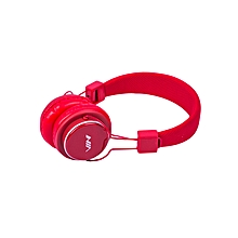Bluetooth Music Headphones Headset (Red)