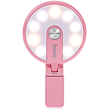 HM1 - Phone Clip Beauty Selfie Fill-in Flashlight - Pink