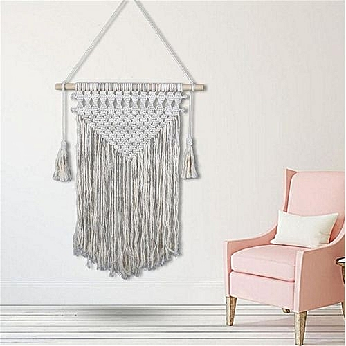 Generic Boho Macrame Handmade Hanging Tapestry Room Wedding Party Art Wall Decor Best Price