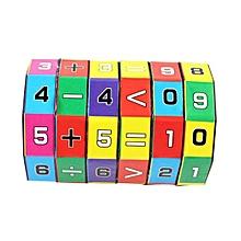 Henoesty New Children Kids Mathematics Numbers Magic Cube Toy Puzzle Game Gift