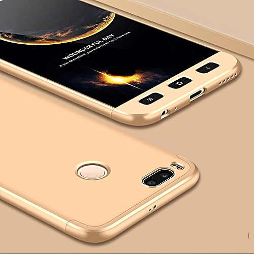 the latest f0e41 3c2f6 For Xiaomi Mi A1 Case for XiaoMi Mi A1 Case Luxury 360 Full PC Back Cover  Case For Xiaomi Mi A1 Protection Phone Case