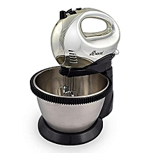 Steel Hand Mixer with bowl-665-D-HMB