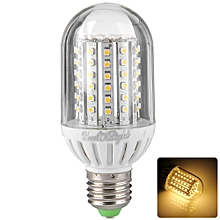 YouOKLight 420LM E27 5.5W SMD 3528 90 LEDs 3500K 8 - 16V Energy Saving Corn Bulb WARM WHITE