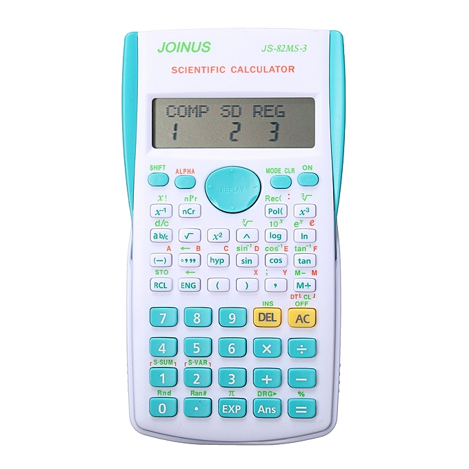 Super Quality School Student Function Calculator Scientific Calculator  Multifunctional Counter Calculating Machine Blue