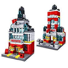 Kazi Station Building Block Sets Toys Educational Gift Fidget Toys #5004 141Pcs-