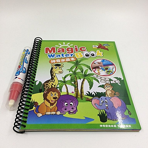 Generic HP Magic Water Drawing Book Kids Painting Book Water ...