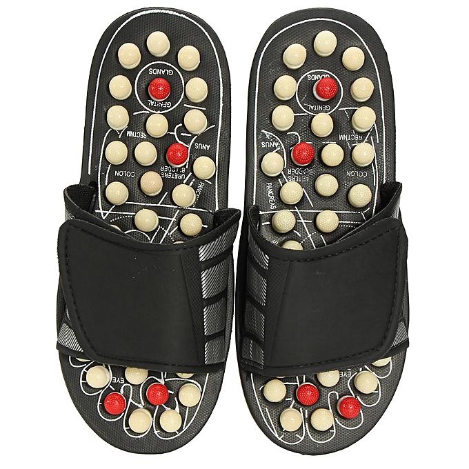 ad89b9355311 Reflexology Sandals Foot Massager Slipper Acupressure Foot Acupuncture Shoes   40-41-EU