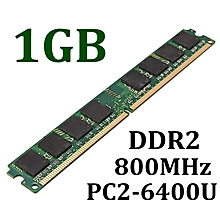 1GB DDR2 PC2-6400U 800MHz 240 Pin DIMM Non-ECC Computer Desktop PC Memory RAM
