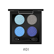 4 Colors Shimmer Eyeshadow Eye Shadow Palette & Makeup Cosmetic Eyeshadow Makeup