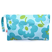 Baby Portable Waterproof Wet Dry Bag Cloth Diaper Reusable Nappy Bag Pockets