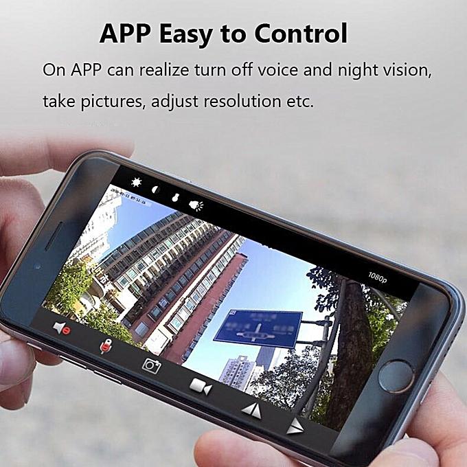 4936937ef9 ... Mini Spy Camera WiFi HD 1080P 150~ Wide-Angle Lens Night Vision Motion  Detection ...