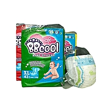 Baby Disposable Diapers, Size XL (42 pieces)