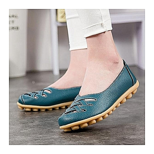 31791820b286d Generic Sandals Beach Shoes Flat Shoes 2017 New Arrived Durable Practical  Female Casual Blue   Best Price