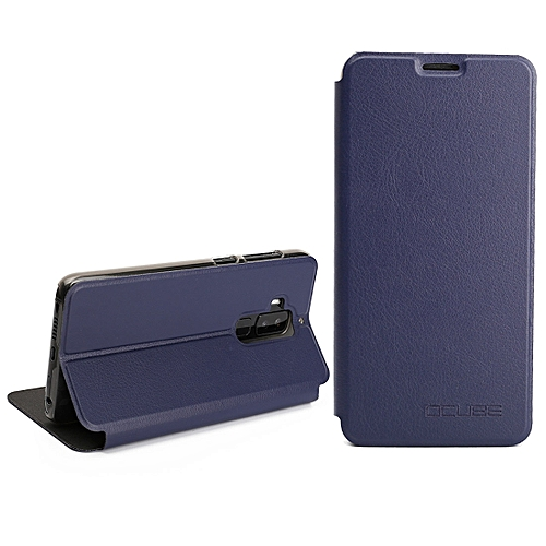 timeless design db145 4e850 Ocube HOMTOM S8 (MPH3140) Spring Texture Horizontal Flip Leather Case Cover  with Holder(Blue)