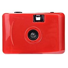 Underwater Waterproof Mini 35mm Film Camera Purple -Red
