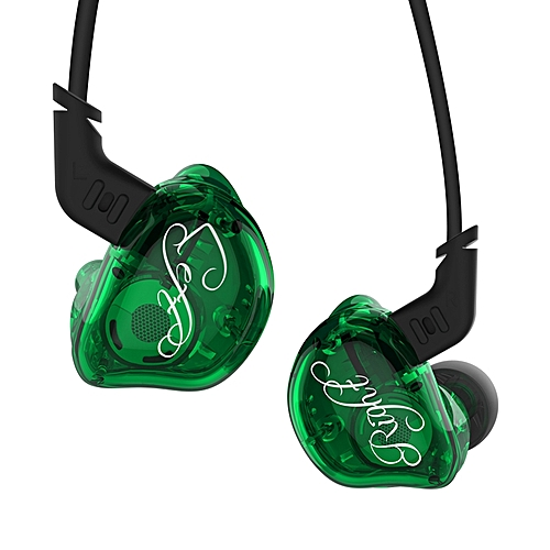 KZ ZSR 6 Units Driver Hifi Hybird Headphones In Ear Earphone with Microphone