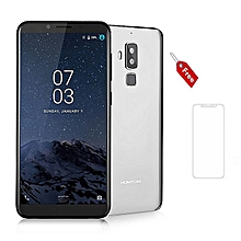S8 4GB + 64GB, 5.7inch screen, 16MP + 13MP+5MP, Android 7.0 with finger print scanner -Silver