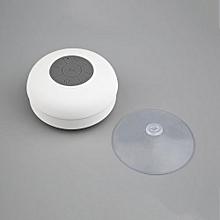 Wireless Bluetooth Handsfree Mic Suction Speaker Shower Car Waterproof