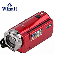 """rechargeable lithium compact Digital Video Camera DV-C8 16megapixels with 2.7"""" TFT LCD display free shipping LOOKFAR"""