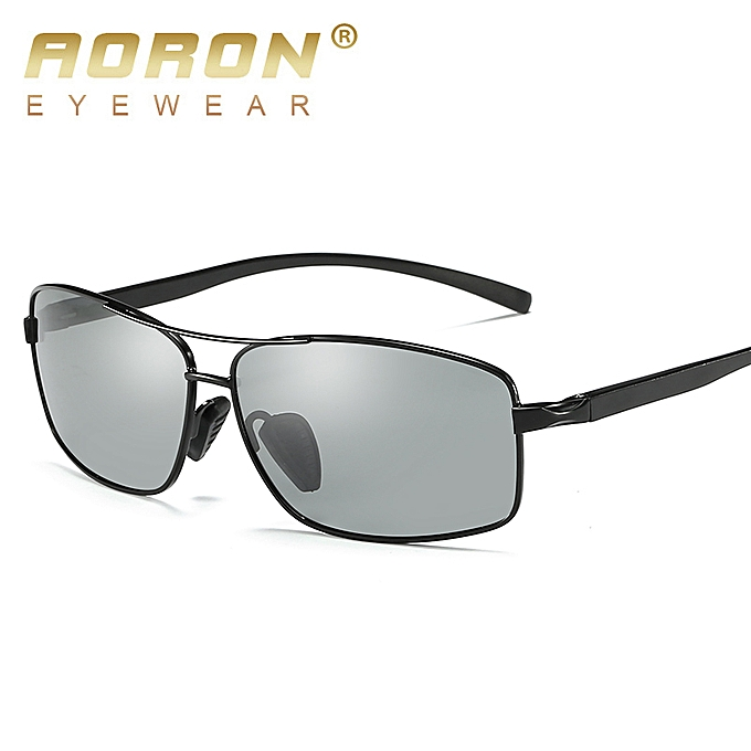 Glasses Designer 2458 Sunglasses Discoloration Photochromic Aoron Brand Driving Men Anti Polarized Goggles Glare Eyewear Male Hd n0O8wkP