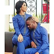 African Couple Suit.
