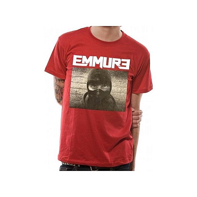 2ee0d93a0 Fashion Men's Cotton T-Shirt EMMURE ETERNAL ENEMY T-SHIRT Funny Shirts Men's  Gifts