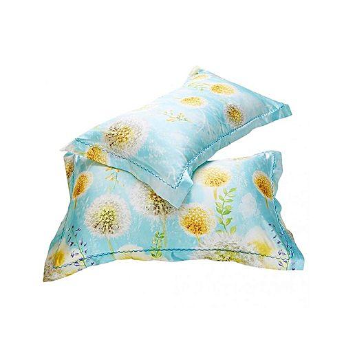 Magideal 2x Mulberry Silk Pillowcase Smooth Standard Pillow Cover