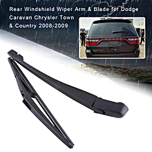 Rear Windshield Wiper Arm & Blade for Dodge Caravan Chrysler Town & Country 08-09 68078306AA