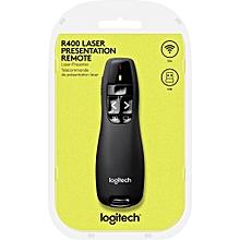 R400 Laser Presentation Remote-Black