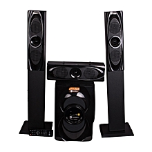 SHT-1265BT 3.1 CH SUBWOOFER WITH MEDIUM RANGE TALL BOY SPEAKERS.