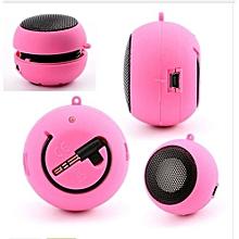 Mini Protable Music player stereo mini speakers 3.5mm Jack Hamburg Type Telescopic Plug-in Audio Speakers