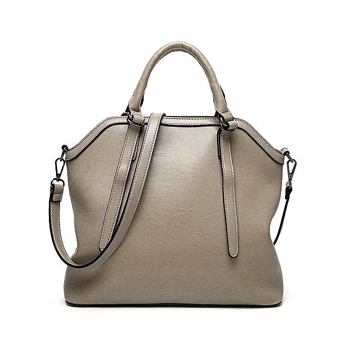 2159f7deeca Women's PU Leather Handbag women shoulder bag fashion 100 ladies big bag  hot style shell bag #white