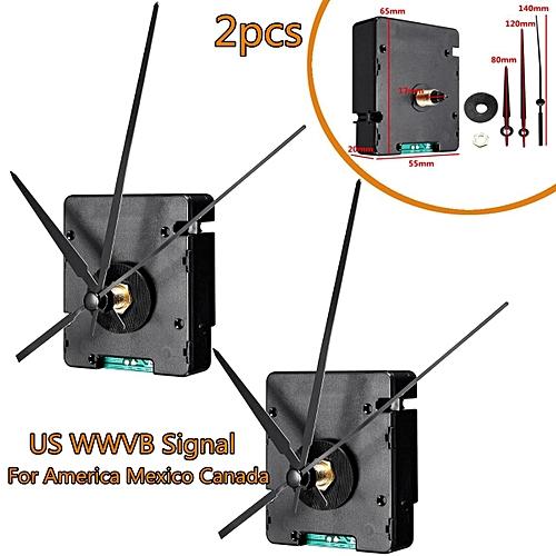2PCS Atomic US WWVB Signal Radio Clock Movement DIY Kits For America Mexico  Canada