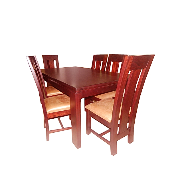 Generic Makwembe Henley Dining Table With 6 Chairs
