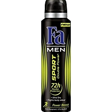Men Sport Double Power Boost (Energy Boost) Deospray - 150 ml