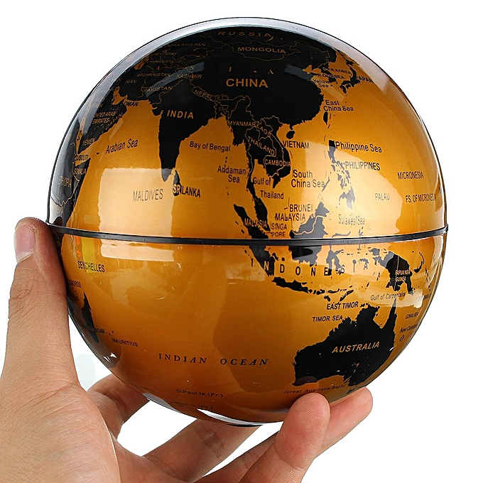 Buy generic 8 inch rotating battery world map globes table ocean 8 inch rotating battery world map globes table ocean geogarphical earth desktop gold gumiabroncs Images