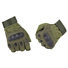 Tactical Gloves Military Army Paintball Airsoft Outdoor Sports Shooting Gloves  L