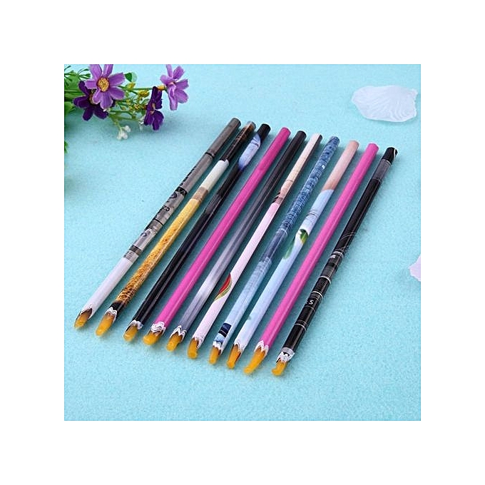 Buy Vakind 5pcs Wax Pencil Nail Art Rhinestones Picking Tools Nail ...