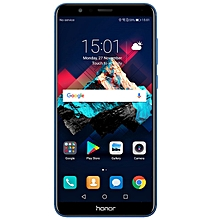 "Honor 7X 5.93"" Full View Screen 2160*1080pix OTA Update Mobile Phone Octa Core 2.4GHz 16MP 4+32g black"