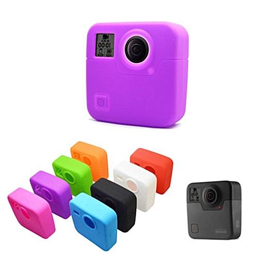 Silicone Protective Case Skin Cover Camera Accessories for GoPro Fusion 360  Camera 8 Colors