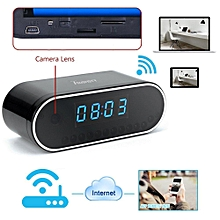 1280x720P HD Wifi Network Camera Clock Hidden Video Recorder Motion Activated Security DVR Support IOS Android Smartphone APP Remote View WWD