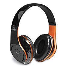 P05 New Style Wireless Bluetooth 4.2 Music  Headphones- Orange&Black