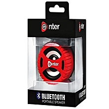 E-BS100 Bluetooth Speakers-Red