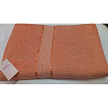 Adult Soft Bath Towel  - Orange
