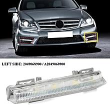 Front DRL Fog Light Daytime Running Lamp For Mercedes Benz W204 W212 R172 C280 For Left