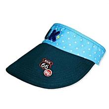 Children Hat Empty Hat Baby Hat Cute Children Sun Hat (Blue)