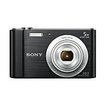 Cybershot Digital Camera W800-20.1 megapixels -Black